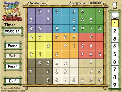 بازی سودوکو